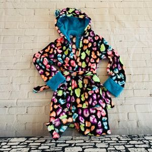 Justice Robe With Sequin Ears Size 8/10